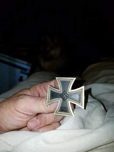 1939 Eisernes Kreuz 1. Klasse