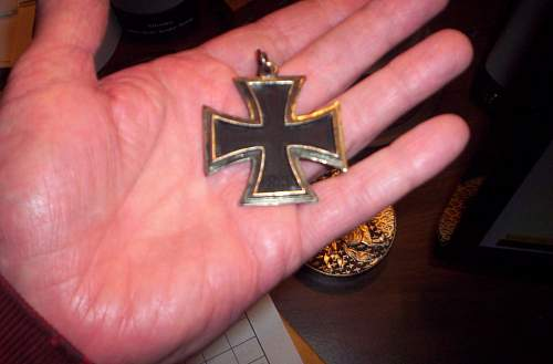 Price of a Ritterkreuz without its ribbon?