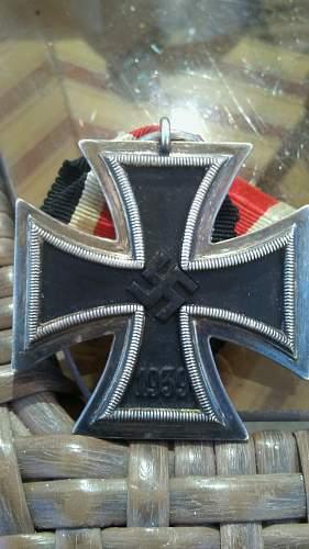 Eisernes Kreuz 2nd Klasse unmarked identification