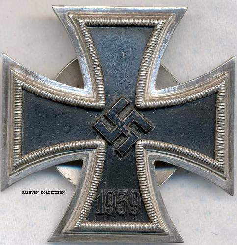 Eisernes Kreuz 1. Klasse Screw Backs by maker