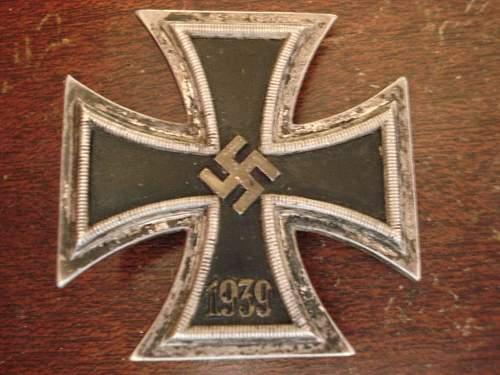 1939 Iron Cross 1st Class
