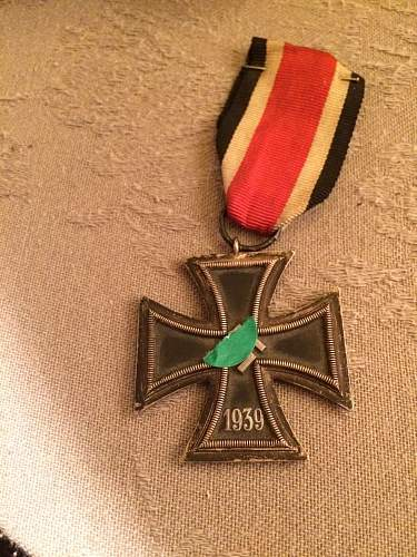 Eisernes Kreuz 2. Klasse Fake or not