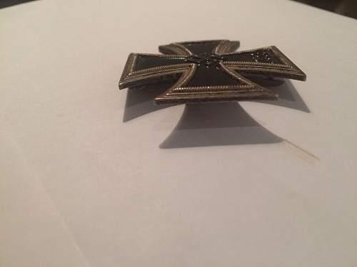 Eisernes Kreuz 1. Klasse, fake or not?