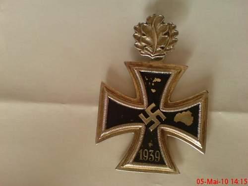 Could this Ritterkreuz be genuine?