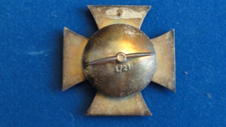 Eisernes Kreuz / Iron Cross (screwback - makers mark - L/21)