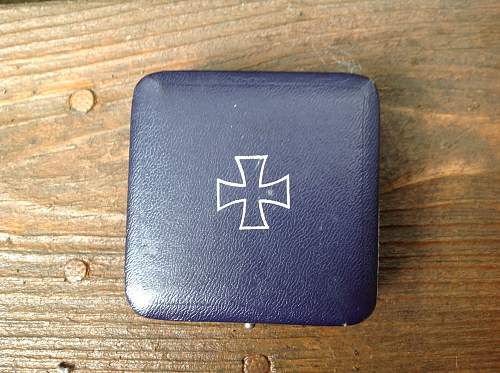 Eisernes Kreuz 1st Klasse cased 65