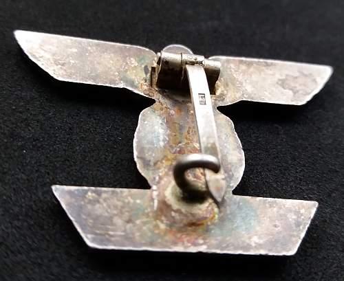 1939 Spange Zum Eisernes Kreuz 1 klasse