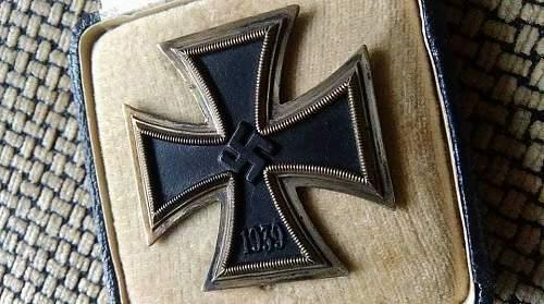 Eisernes Kreuz 1st Klasse Authenticity