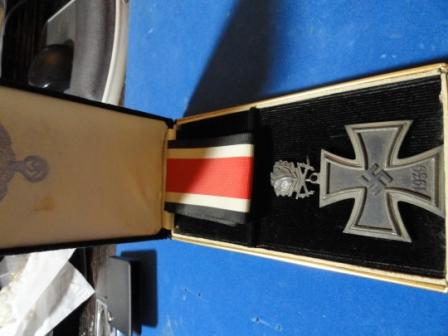 Eisernes Kreuz / Iron Cross w/ Oak Tree (or is this the bigger one?) - No MM