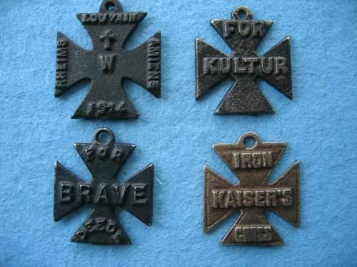 Soviet propaganda Iron crosses