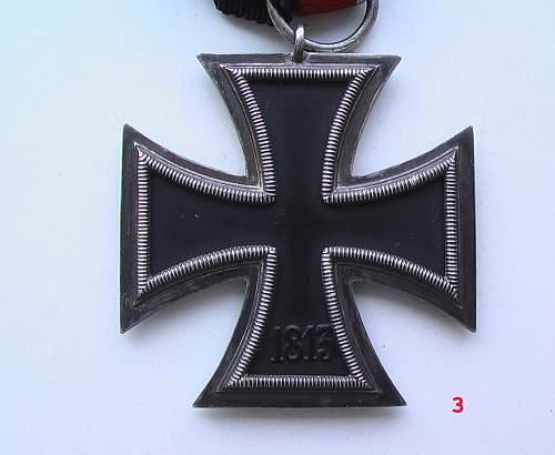 Three 1939 Eisernes Kreuz.