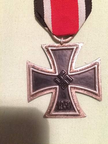Eisernes Kreuz 2. Klasse, real/fake?