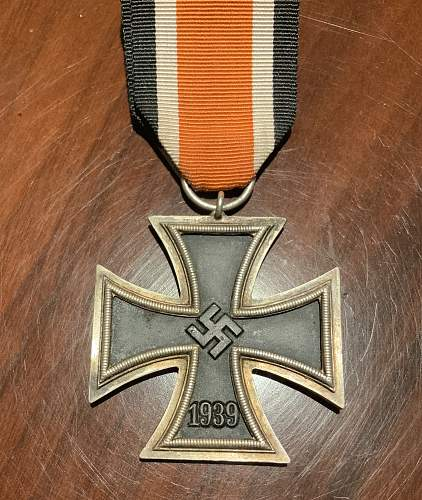 Deschler round 3 Eisernes Kreuz 2. Klasse?