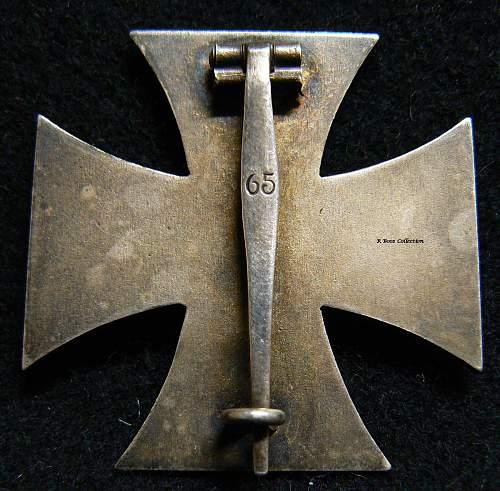 Eisernes Kreuz erste Klasse
