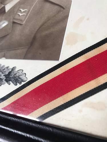 Eisernes kreuz ribbon fake?