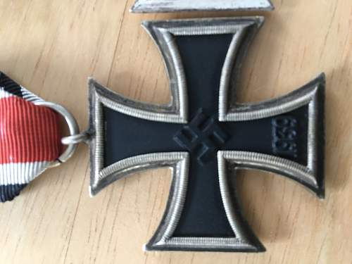 Eisernes Kreuz 2. Klasse, Schinkel for review