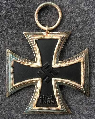 Eisernes Kreuz 2. Marked 4