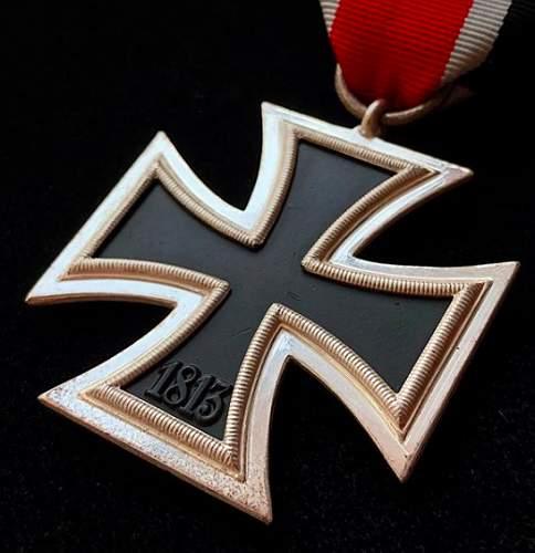 "My new MINT Eisernes Kreuz 2. Klasse by Wächtler & Lange (marked ""100"")"