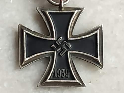 Eisernes Kreuz 2. Klasse authentication