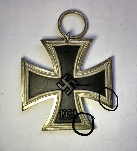 Eisernes Kreuz 2. Klasse Unmarked