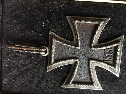 Ritterkreuz des Eisernen Kreuzes authenticity question
