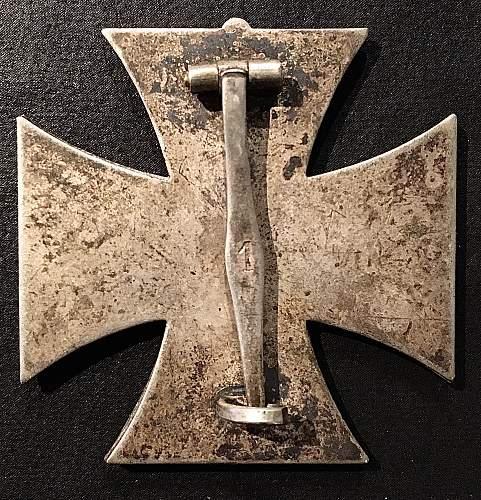 1939 Eisernes Kreuz 1 Klasse, Deschler EXTREMELY RARE !!