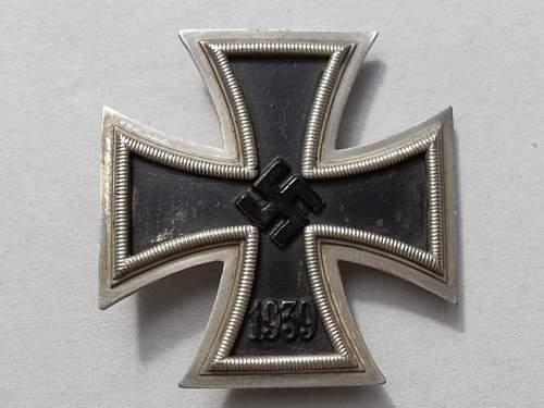 My 1st Eisernes Kreuz 1. Klasse!