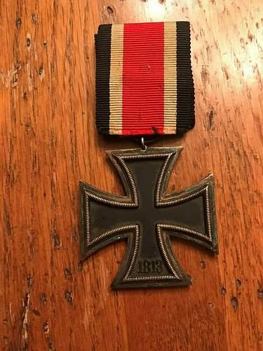 Eisernes Kreuz 2nd Klasse with round 3
