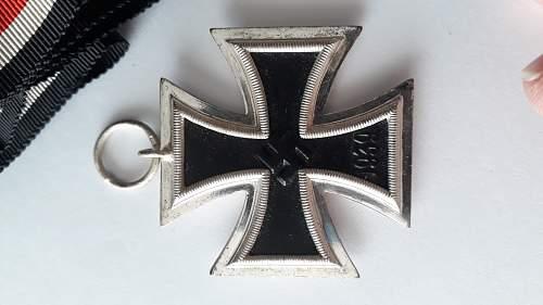 My new Eisernes Kreuz 2nd Klasse