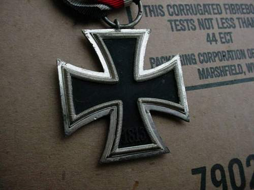 Eisemes Kreuz nice cond. post war?