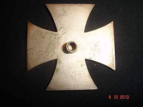 Eisernes Kreuz 1st Klasse.
