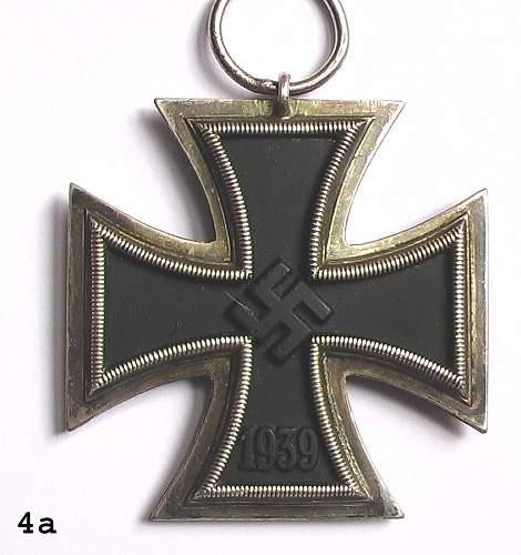 Four Eisernes Kreuz II Klasse