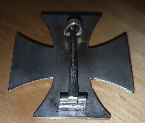 Eisernes Kreuz 1. Klasse Hersteller L/50 Gebr. Godet Kopie?