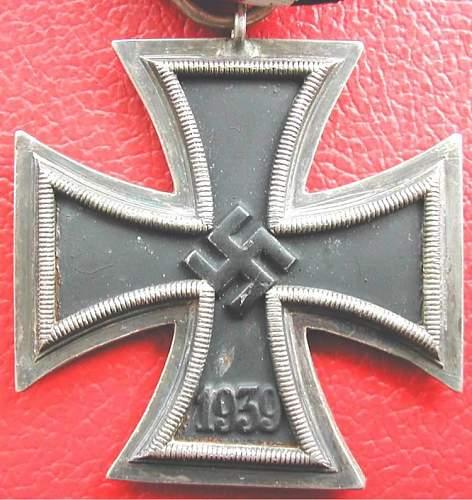 Eisernes Kreuz 2. Klasse mm138 question