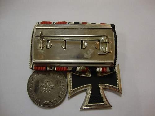 EK2 Medal bar