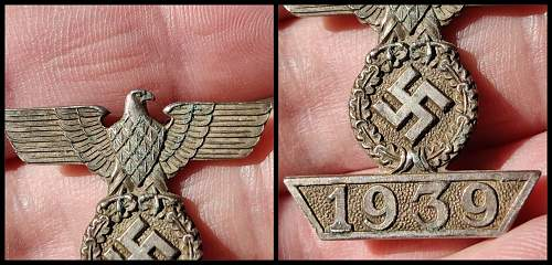 Spange 1939 zum EKII Klasse ?