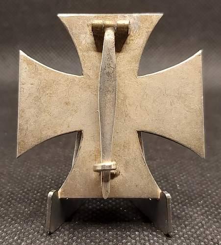 Eisernes Kreuz 1. Klasse. Bitte um Meinungen
