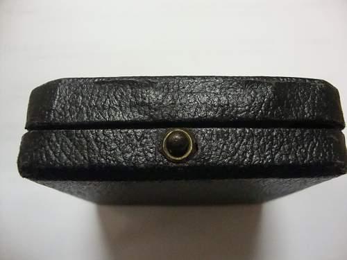 Cased maker marked EK1 W&L
