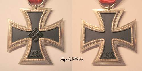 Iron Cross - an obvious fake?