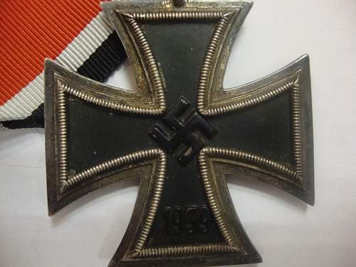 Eisernes Kreuz I. klasse with case - but no serial