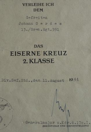 EKII 1939 with document!!!! Opinions needed