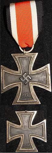 Is this ww2 2nd Class Iron Cross Real or fake