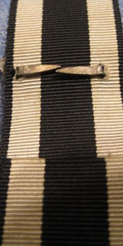 1939 spange on WWi ribbon-Opinions as there are issues