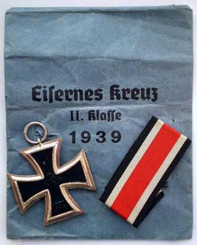 My new Eisernes Kreuz 2.Klasse - unmarked but in great condition