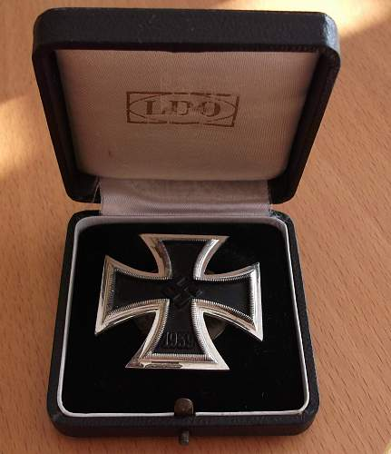 Eisernes Kreuz 1. Klasse L54 screwback - for opinion please