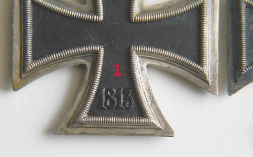 Two Eisernes Kreuz II Klasse
