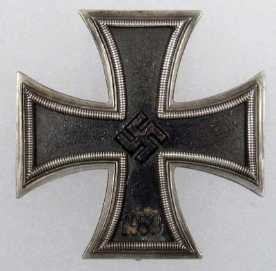 Schinkle iron cross 1st class,,,good or bad