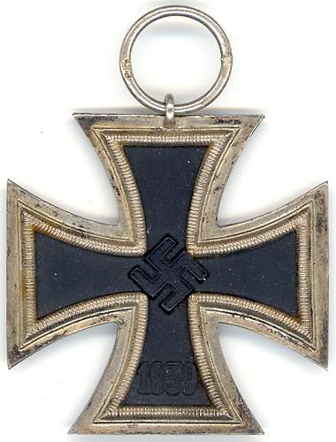 """Help with Eisernes Kreuz maker """"25""""."""