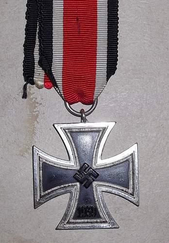 Eisernes Kreuz 2. Klasse - from a Wehrmacht'soldier