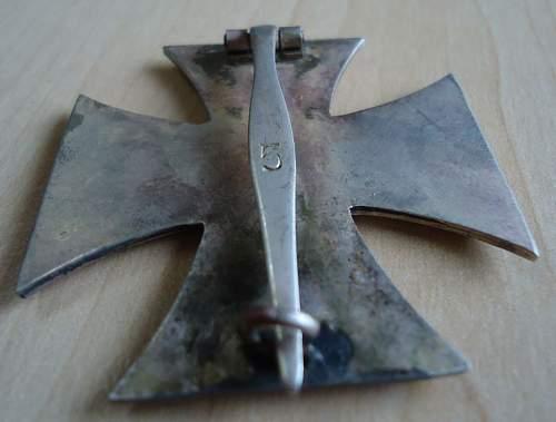 Real or Fake German Eisernes Kreuz 1st Klasse.